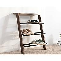 靴ラック単純な多層無垢材アイアンアート家庭用リビングルーム経済タイプシューズラック