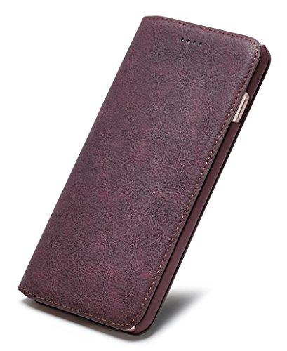 Tindon iPhone7 ケース 手帳型 レザー アイフ...