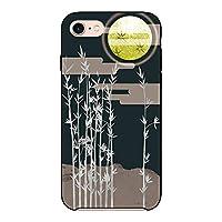 (カリーナ) Carine iPhone6s 薄型 ブラック スマホケース スマホカバー sc322(G) 和柄 月 竹 アイフォン6s スマートフォン スマートホン 携帯 ケース アイホン6s ハード プラ スマフォ カバー