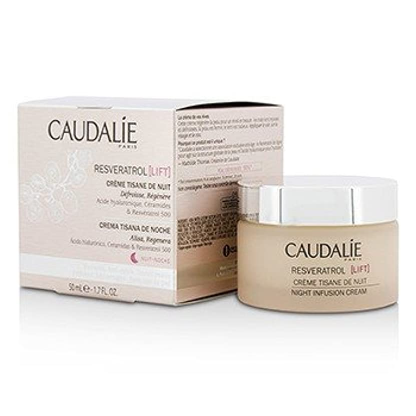 ピッチ高度な旋律的[Caudalie] Resveratrol Lift Night Infusion Cream 50ml/1.7oz