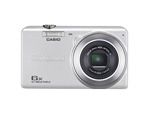 CASIO デジタルカメラ EXILIM EX-ZS28SR 広角26mm 光学6倍ズーム プレミアムオート 1610万画素 シルバー