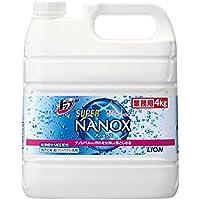 ライオン 業務用 トップSUPERNANOX スーパーナノックス 4kg×3本入