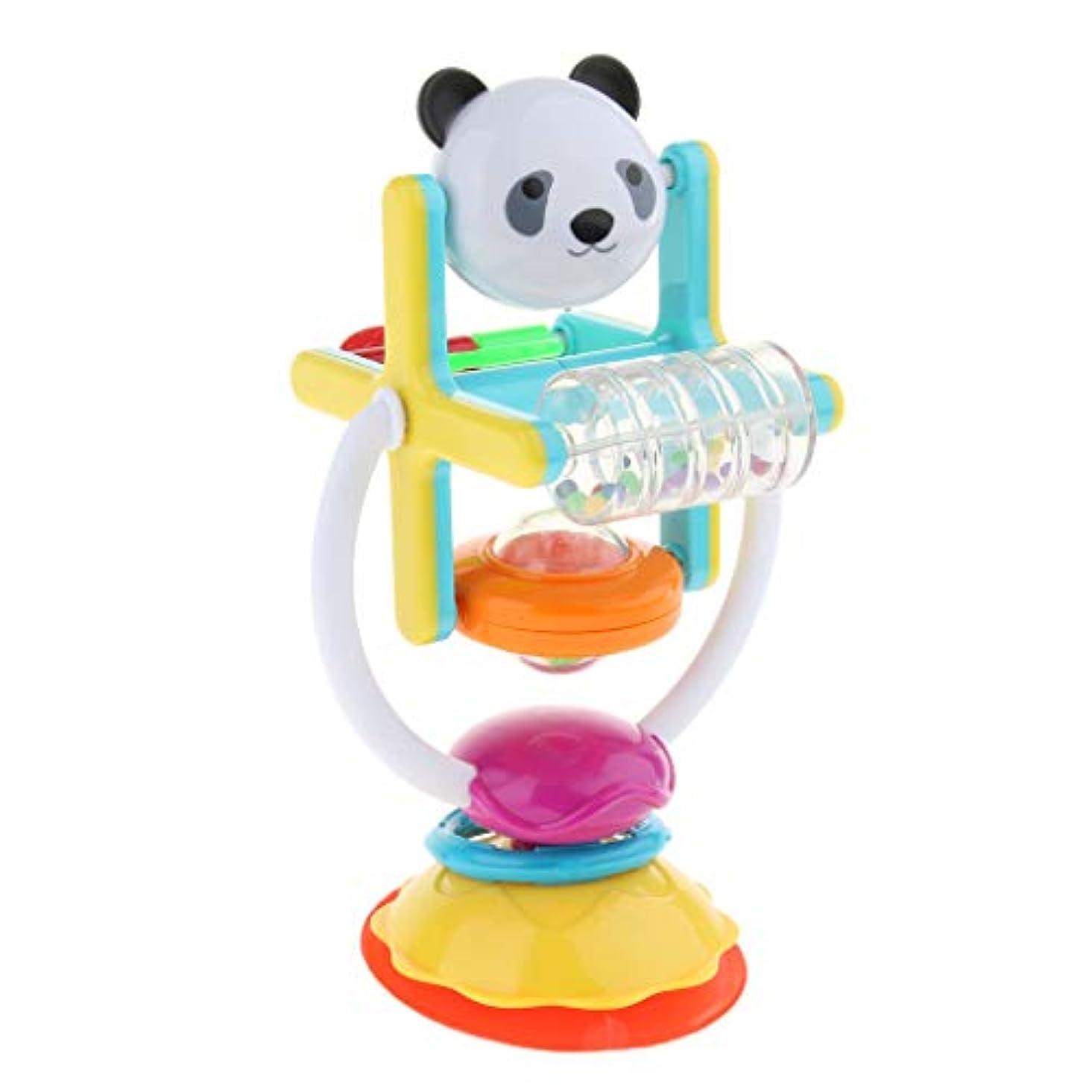 日食マーケティング倫理的sharprepublic プラスチック ガラガラおもちゃ ラトルおもちゃ ベビーおもちゃ 回転風車の形 カラフル 子供 ギフト