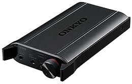 ONKYO ポータブルヘッドホンアンプ USB-DAC搭載/ハイレゾ音源対応 ブラック DAC-HA200(B)