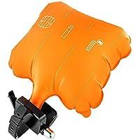 RaiFu ライフジャケット ポータブル アンチダンク 自動膨張式 救命救命隊 リストバンド 緊急救助 ブレスレット インフレータブル 安全エアバッグ 自己救助装置 コンパス