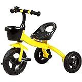子供の三輪車 組み立てることが容易な子供の三輪車子供のペダルの三輪車の滑り止めのハンドル滑り止めのペダル子供のトライク最大重量25 Kg 三輪車 おりたたみ 持ち運び (色 : A)