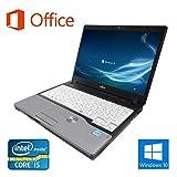 【Microsoft Office 2016搭載】【Win 10搭載】富士通 P771/次世代Core i5 2.5GHz/メモリ:4GB/HDD:250GB/12.1型ワイド液晶/無線LAN/SDカードスロット/中古ノートパソコン (HDD:250GB)