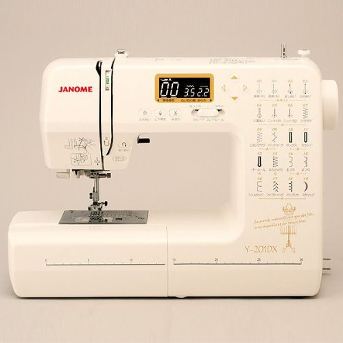 ジャノメ コンピューターミシン/Y-201DX