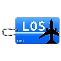 ラゴスナイジェリア(LOS)空港コード IDカード荷物タグ