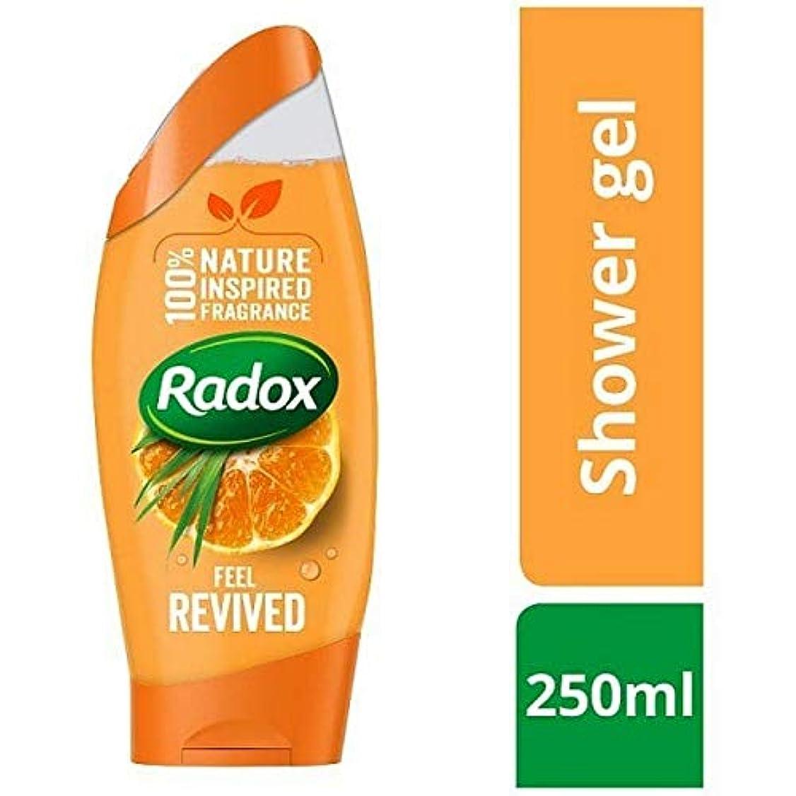 輪郭ルー純度[Radox] Radox感触復活シャワージェル250ミリリットル - Radox Feel Revived Shower Gel 250ml [並行輸入品]