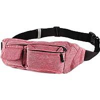 SoJourner 2-Pocket Bum Bag Fanny Pack Hip Bag - fits men women kids - small medium large (many styles)