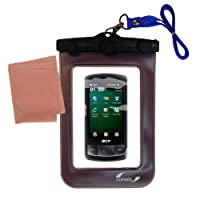 Gomadicアウトドア防水携帯ケースSuitable for the Acer beTouch e200e210に使用Underwater–keepsデバイスClean and Dry