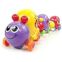 quietcloud Cute Cartoon Animal Snail Wind UpおもちゃClockwork新生児キッズスプリングToy