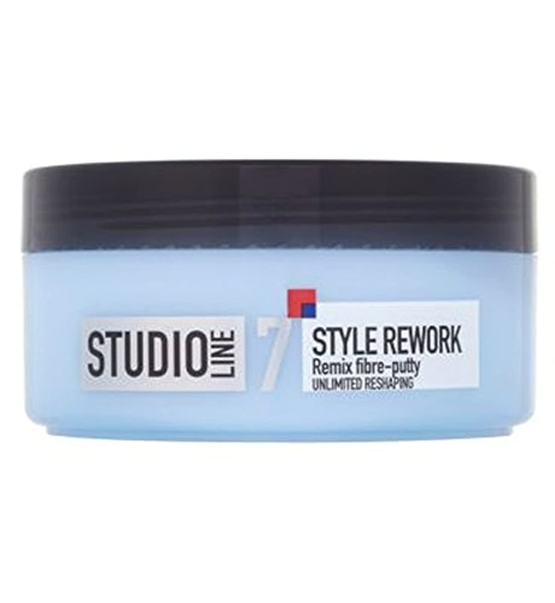 ガイドインシデント危険L'Oreall Studio Line Style Rework Remix Fibre-Putty 150ml - L'Oreallスタジオラインスタイルリワークリミックス繊維パテ150ミリリットル (L'Oreal...