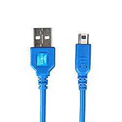 任天堂3DS USB充電用ケーブルは任天堂3DS, 3DS XL, 2DS, DSi, DSi XL (1.2m 4ft, 青)向けの、充電しながらゲームをプレイできます