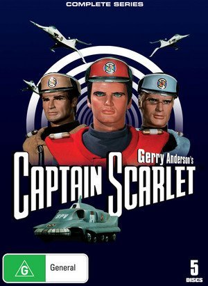 Gerry Anderson's Captain Scarlet: Complete Series by Charles 'Bud' Tingwell