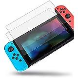 2枚入り Nintendo Switch用 保護 ガラスフィルム 任天堂ニンテンドー スイッチ 強靭9H 0.3mm 撥水撥油 指紋防止 飛散防止 貼付道具付 ピタ貼り 自己吸着 気泡防止 極薄