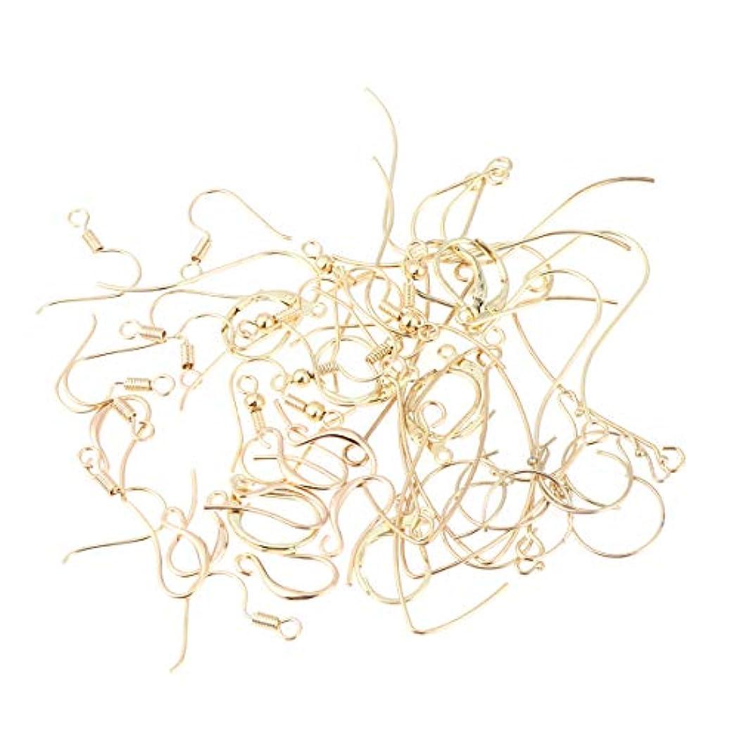 ロープ助言用量Healifty 56個 イヤリング フック イヤワイヤー ボールコイル diy工芸品 ジュエリー