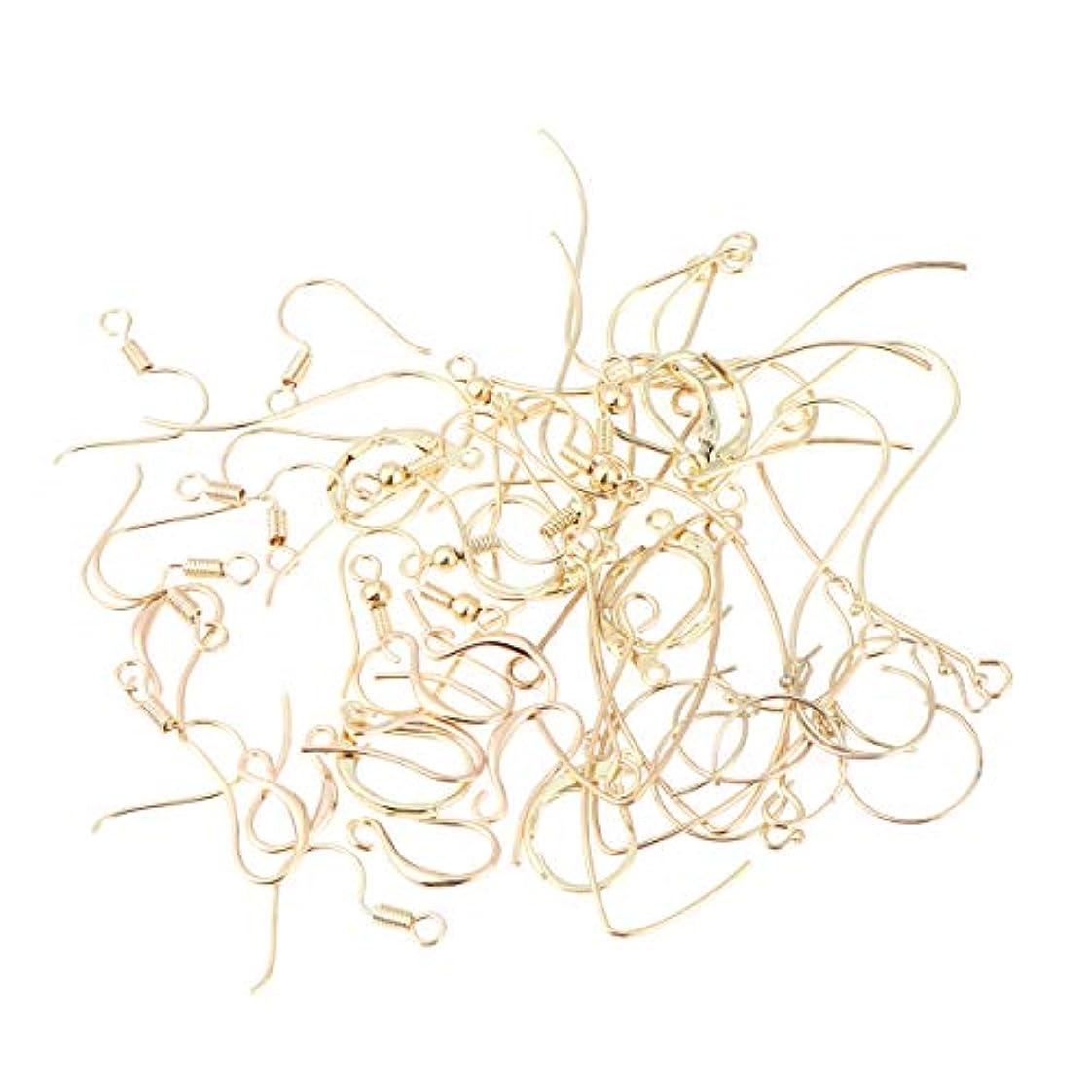 農場連結するグレードHealifty 56個 イヤリング フック イヤワイヤー ボールコイル diy工芸品 ジュエリー