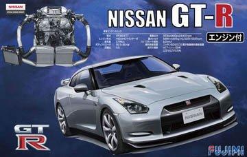 フジミ模型  ID131 ID131 NISSAN GT-R  R35  エンジン付き