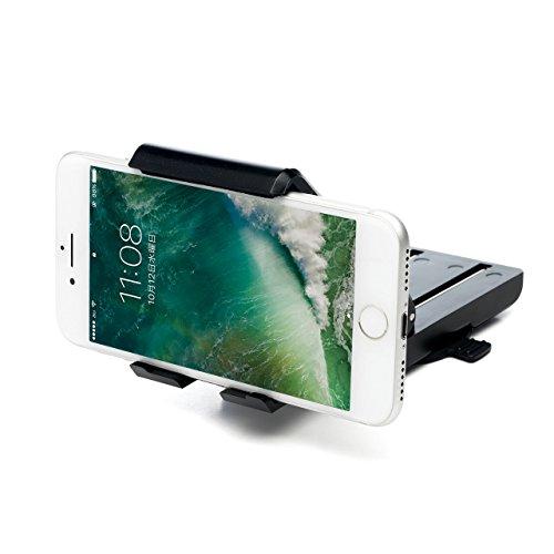 サンワダイレクト 車載ホルダー コンパクト 視界を遮らない iPhone スマートフォン対応 ダッシュボード取付 ゲル吸盤 200-CAR045