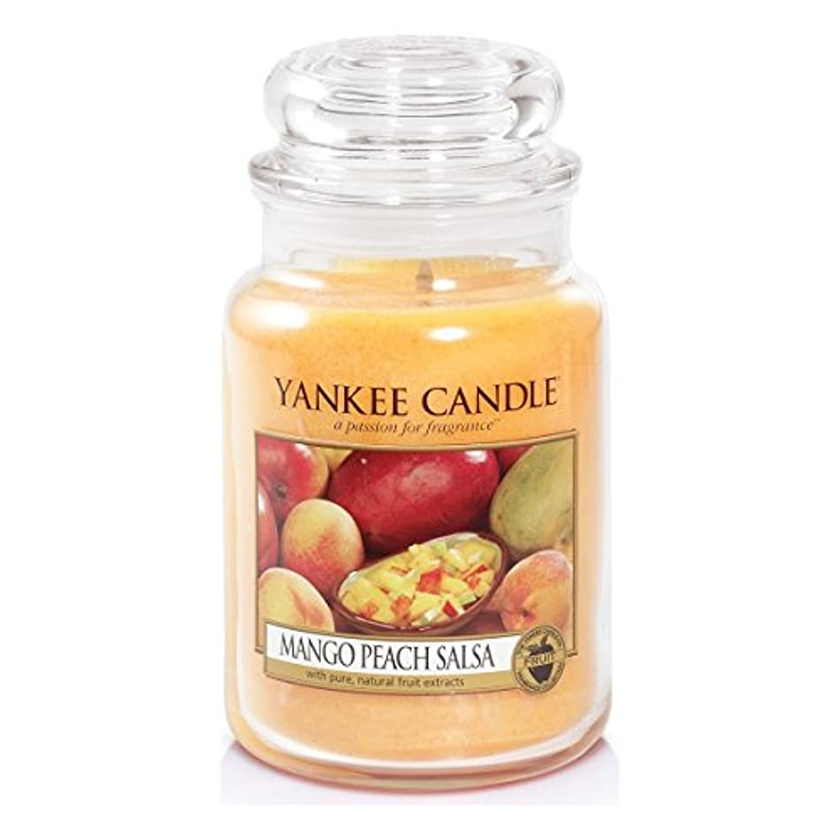 スズメバチロイヤリティブレンドYankee Candle Large Jar Candle, Mango Peach Salsa by Yankee Candle