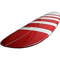 7'4ファンボードBD赤●サーフボード《SCELL》 サーフィン