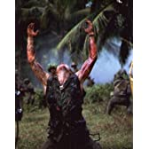 ブロマイド写真★『プラトーン』撃たれて手を挙げるエリアス軍曹(ウィレム・デフォー)