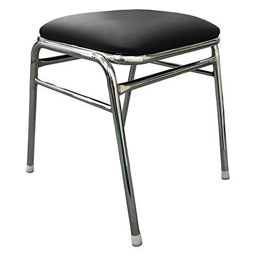 マインズ スツール 黒 ゲーセン椅子 ゲームセンター用 角椅子