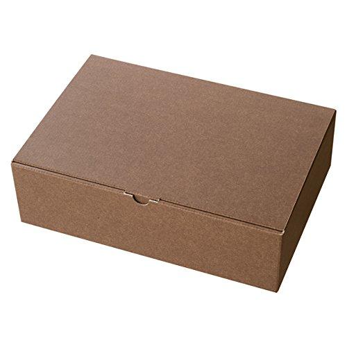 ヘッズ 無地ブラウンギフトボックス-1 MBR-GB1 1セット(60枚:10枚×6パック)