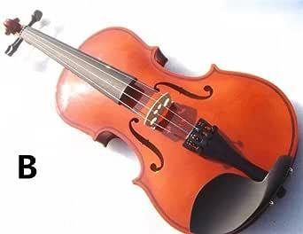 子供用 ヴァイオリン 初心者 入門モデル 誕生日プレゼント 4color 木製 ヴァイオリン 知育玩具 楽器玩具 子供用 1/4 3/4 4/4 1/2 1/8
