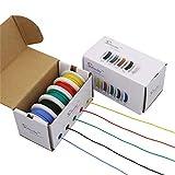 (ストライブデイ) Striveday™ 柔軟なシリコンワイヤ silicone 18awg stranded wire Hook Up シリコンラバー電気配線キット 18ゲージ 電気ワイヤ 箱入りワイヤー Box 1