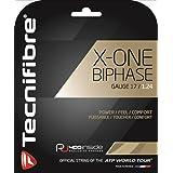 テクニファイバー(Tecnifibre) テニス ガット エックスワン バイフェイズ X-ONE BIPHASE 12m ゲージ1.24mm ナチュラル TFG901