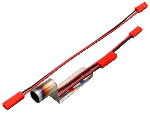 ヨコモ LED (赤・青) 内蔵 ステンレスマフラー (延長コード付き)