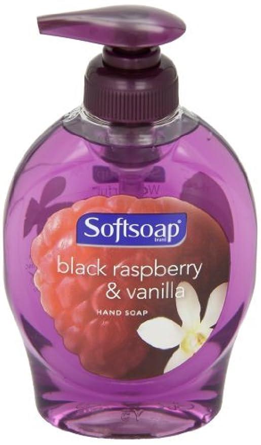 悲惨代名詞保有者Softsoap 29522CT Elements Hand Soap, Black Raspberry & Vanilla Scent, 7.5oz Pump Bottle, 12/Ctn [並行輸入品]