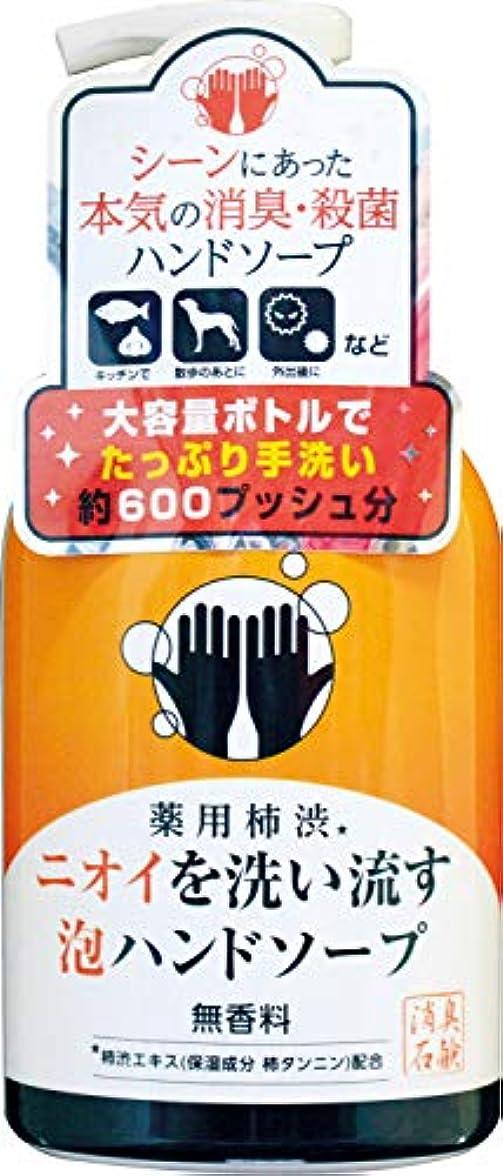 ドローバッフル乙女薬用柿渋ニオイを洗い流す泡ハンドソープ 本体