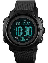0239017a0e 腕時計 デジタルウォッチ メンズブランド 両地時間帯表示 ファション クロノグラフ アラーム ...