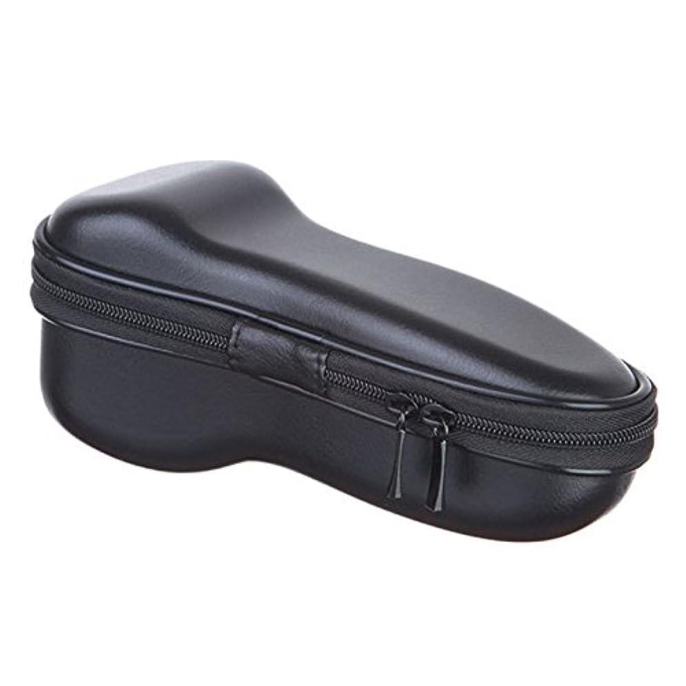 呪われた休暇暴動Moligh doll ユニバーサル 電気 シェーバー ジッパー付き 収納バッグ 旅行EVA保護 ショックプルーフ ケース ボックス ポーチ カバー カミソリ/シェーバーのバッグ