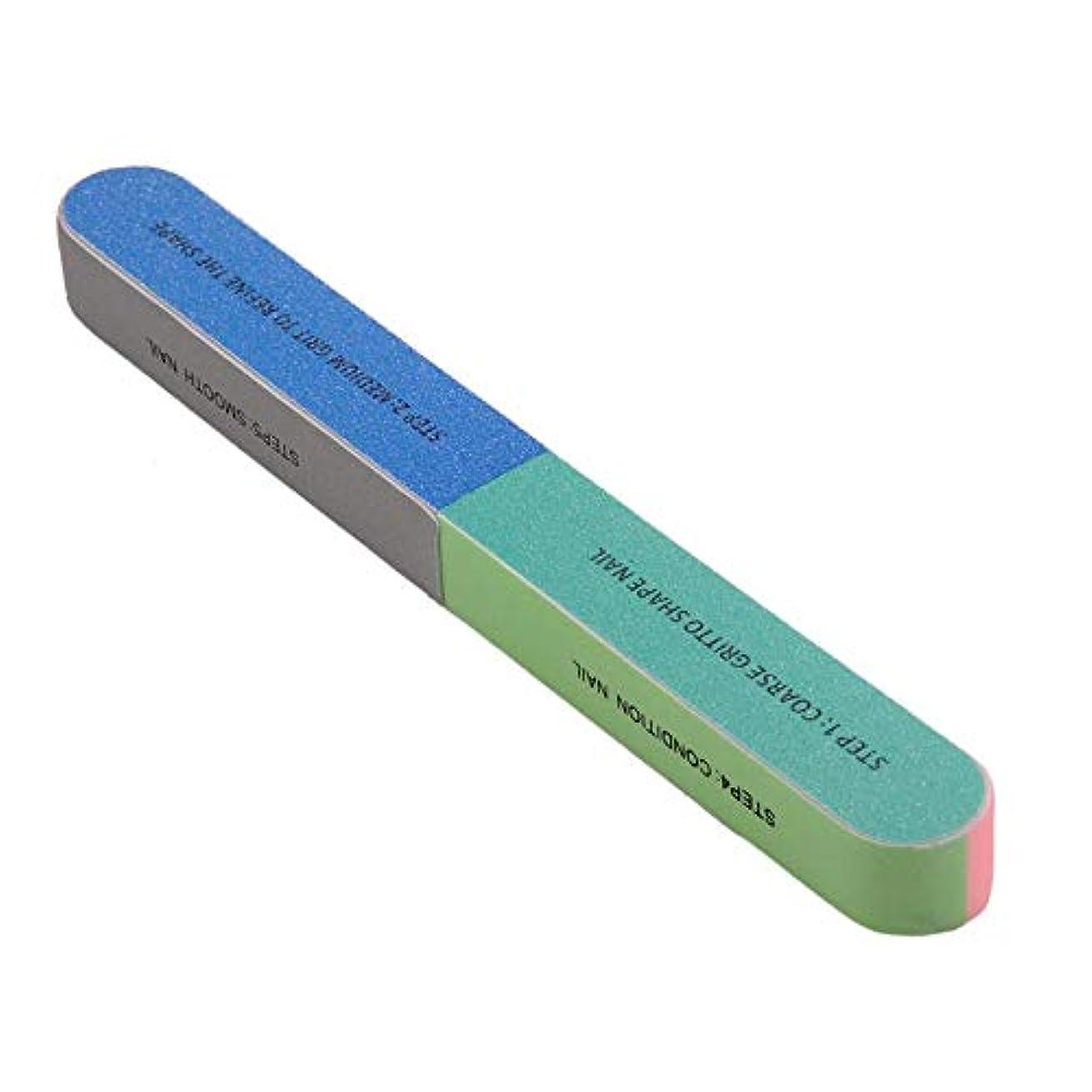 体操発行する百SILUN 爪やすり多面も使える 爪ヤスリ プロのネイルツール 多機能 ネイルファイル ユニセックス 爪磨きネイルファイル