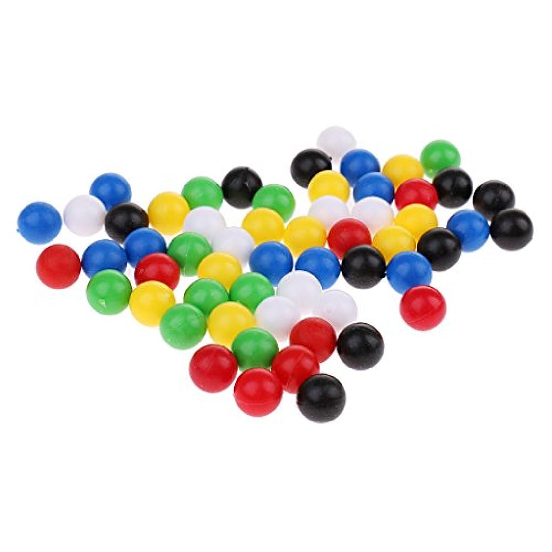 任意控えめな毛細血管Sharplace プラスチック 丸ボール ファミリーゲーム 約60個
