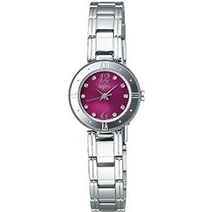 アルバ]ALBA 腕時計 ingenu アンジェーヌ 母の日スペシャルモデル メッセージカードつき クリスタライズ入り ボルドー 【数量限定】 AHJK705 レディース