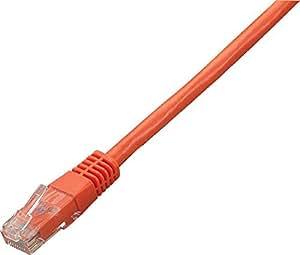 グリーンハウス カテゴリー6対応 LANケーブル オレンジ 5m GH-CBE6-5MO