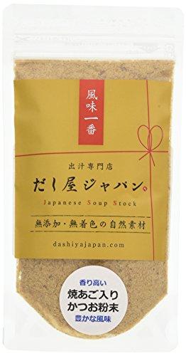 焼あご入り かつお粉末  60g 香り高くすっきり 煮物・麺汁など 無添加 天然だし 国産
