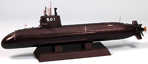 ピットロード 1/350 海上自衛隊潜水艦 SS-501 そうりゅう型 塗装済半完成品