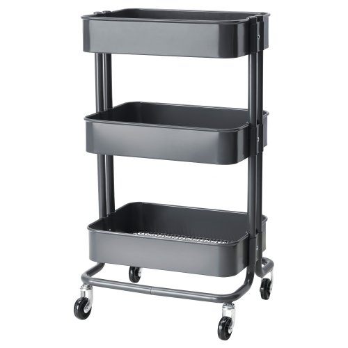 IKEA RASKOG キッチンワゴン / グレー (30227974)