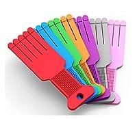 ラバーSソフトバックボディメリディアンパット撮影ボードアームアキュポイントバックボディセルフマッサージハンマーマッサージスティックマッスルショルダーフットネックハンドツールカーフネックハンド女性ポータブルギフト最高7色 (Color : Red)
