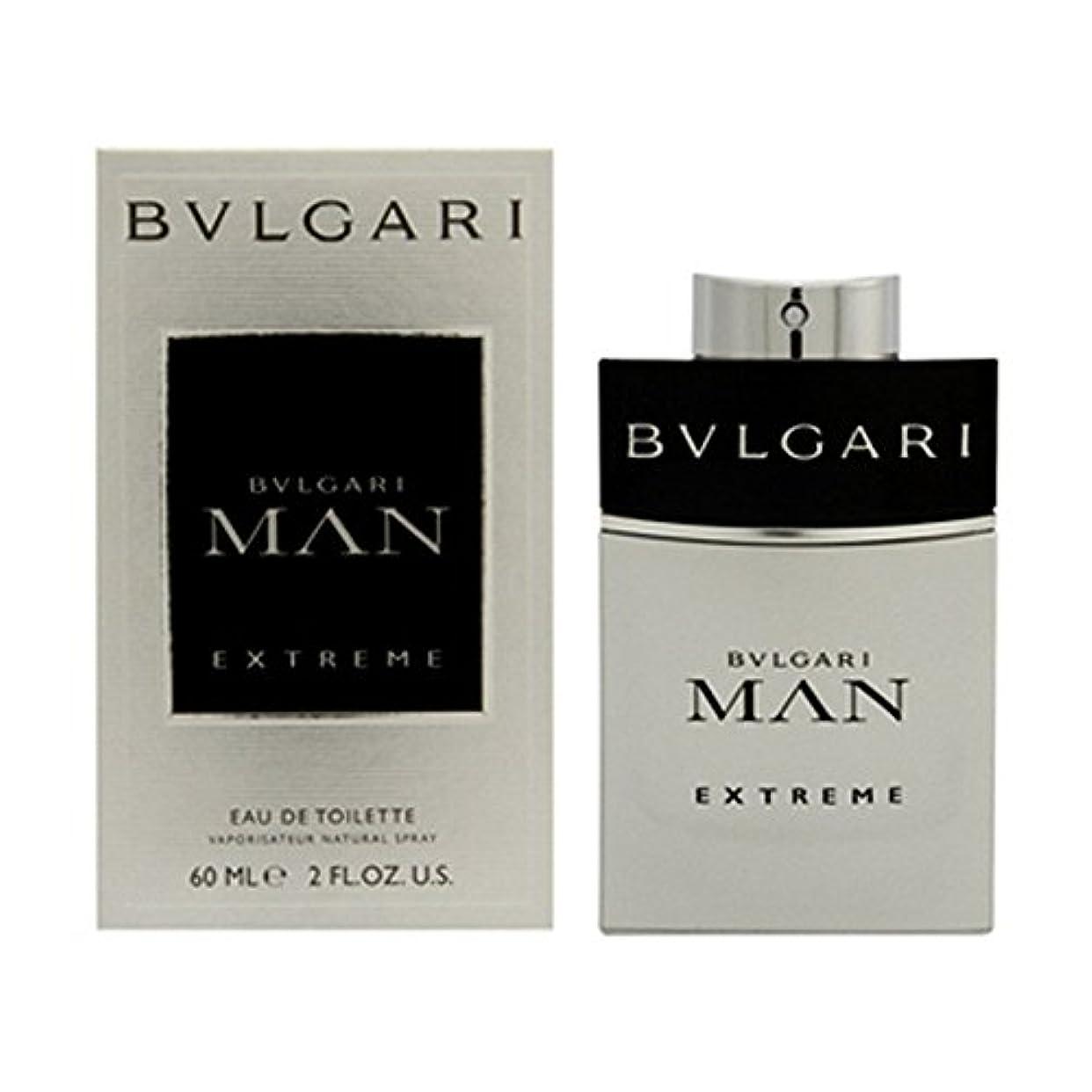 変形する魅力的合併ブルガリ BVLGARI ブルガリ マン エクストリーム EDT SP 60ml [並行輸入品]