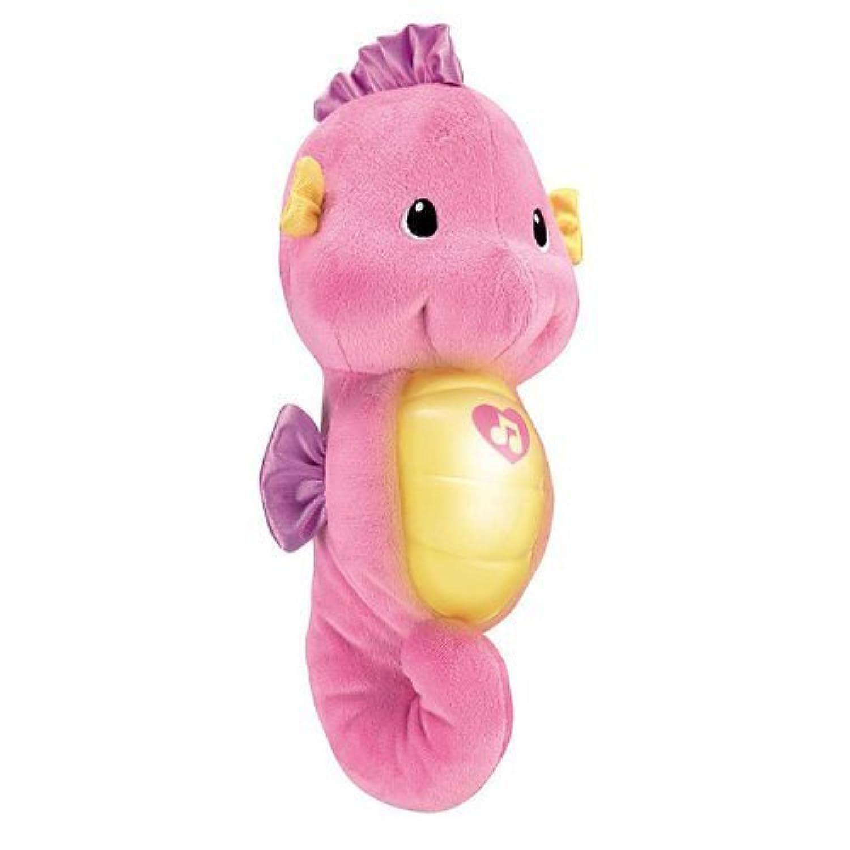 Ocean Wonders Soothe and Glow Seahorse, Pink