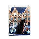 グリーティングライフ ヨーロッパを旅してしまった猫と12ヶ月 手帳 2020年 1月始まり ウィークリー B6 CD-863-NH