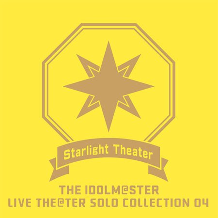 THE IDOLM @STER LIVE THE @TER SOLO COLLECTION 04 Starlight Theater Idol master, Meiji Jingu Shrine Center venue limited CD yellow